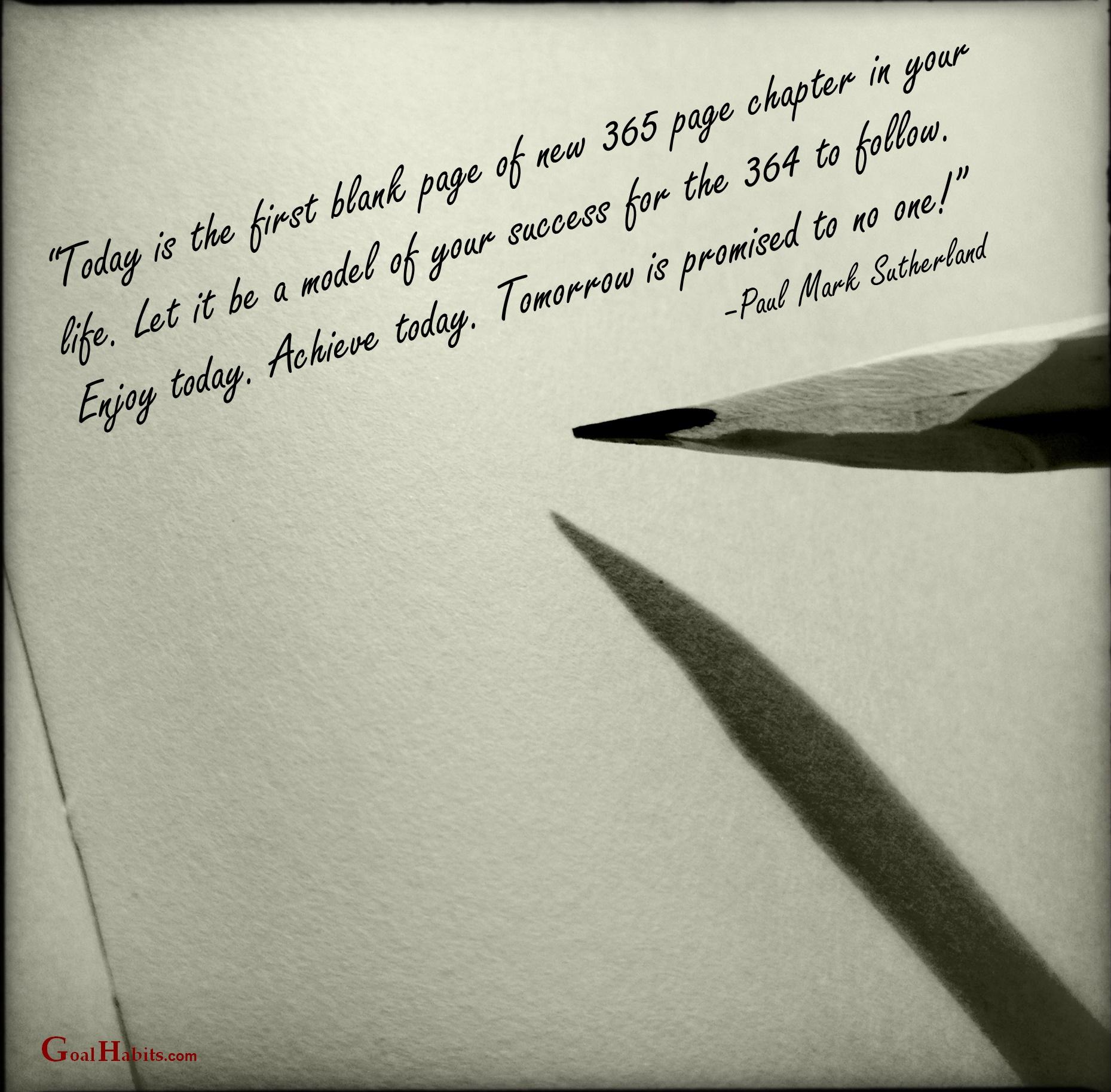 Success Quote Jan 1 2016 Goal Habitscom